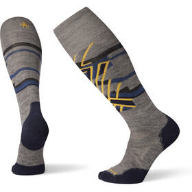 Smartwool PhD Ski Medium Pattern Chaussettes, medium gray